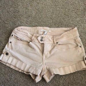 Pink shorts size 26